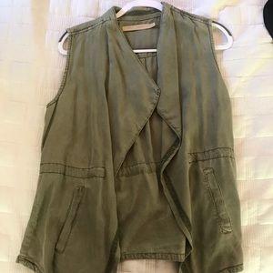 NWOT Max Jeans Sage Green Vest
